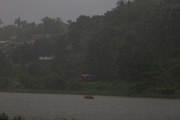 Santo Domingo - Furacão Irma tinha categoria durante sua passagem pela República Dominicana (EFE/Roberto Guzmán)