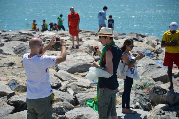 Turistas em Fortaleza