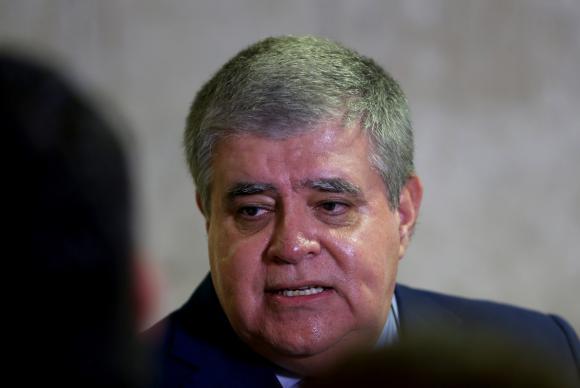 Brasília - O deputado Carlos Marun, em entrevista no Palácio do Planalto, fala sobre denúncias apresentadas pelo procurador-geral da República, Rodrigo Janot (Wilson Dias/Agência Brasil)