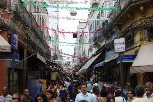 Saara, comércio no centro do Rio de Janeiro