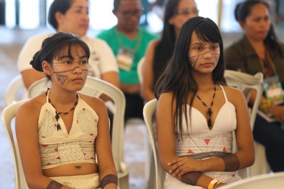 Brasília - 3 Fórum Nacional de Educação Escolar Indígena debate participação da população na formulação das políticas públicas (Valter Campanato/Agência Brasil)