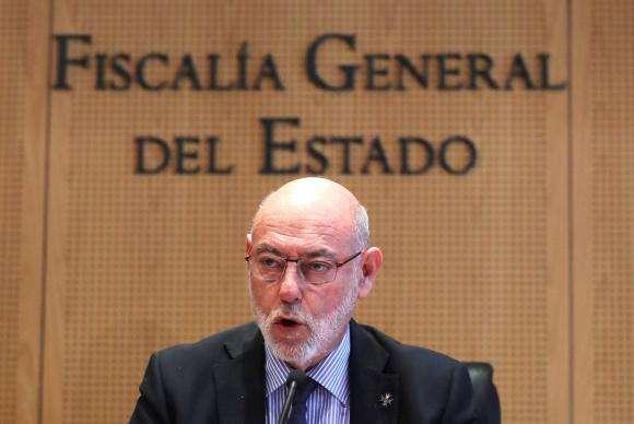 Procurador-geral da Espanha, José Manuel Maza