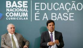 Brasília - Cerimônia de Homologação da Base Nacional Comum Curricular (Alan Santos /PR )