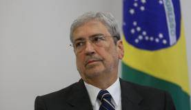 Brasília - O ministro da Secretaria de Governo, Antonio Imbassahy, durante cerimônia de assinatura do decreto de criação da Rede Brasil Mulher, no Palácio do Planalto (Valter Campanato/Agência Brasil)