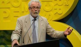 Rio de Janeiro - O presidente da Apex-Brasil, Roberto Jaguaribe, fala na cerimônia de abertura da Casa Brasil no Pier Mauá, na zona portuária do Rio (Tomaz Silva/Agência Brasil)