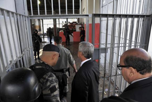 Comissão fez vistoria na quarta-feira (3) no Complexo Penitenciário Aparecida de Goiânia