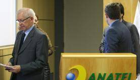Brasília - Juarez Quadros, presidente do Conselho Diretor da Anatel fala sobre a empresa de telefonia Oi (Antonio Cruz/Agência Brasil)