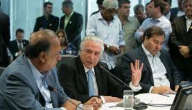 Rio de Janeiro - Presidente da República, Michel Temer,participa de Reunião de trabalho sobre segurança ( Alan Santos/PR )
