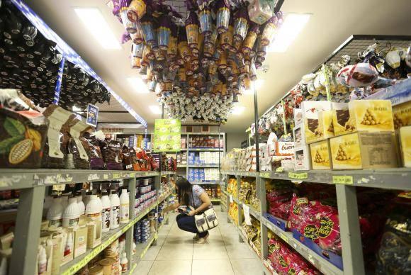 Brasília - Às vésperas da Páscoa, lojas em Brasília vendem ovos de páscoa (Marcelo Camargo/Agência Brasil)
