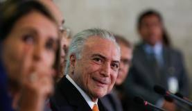 Brasília - O presidente Michel Temer participa da 47 reunião do Conselho de Desenvolvimento Econômico e Social (CDES), no Palácio do Planalto (Marcos Corrêa/PR)