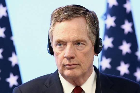 responsável pelo Comércio Exterior dos Estados Unidos, Robert Lighthizer