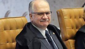 Brasília - Ministro Edson Fachin durante sessão do Supremo Tribunal Federal (STF) para decidir sobre afastamento de parlamentares (Carlos Moura/SCO/STF)