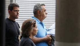 Rio de Janeiro - O deputado Jorge Picciani se apresenta à Polícia Federal (PF) após nova ordem de prisão expedida pelo Tribunal Regional Federal da 2 Região (TRF2)