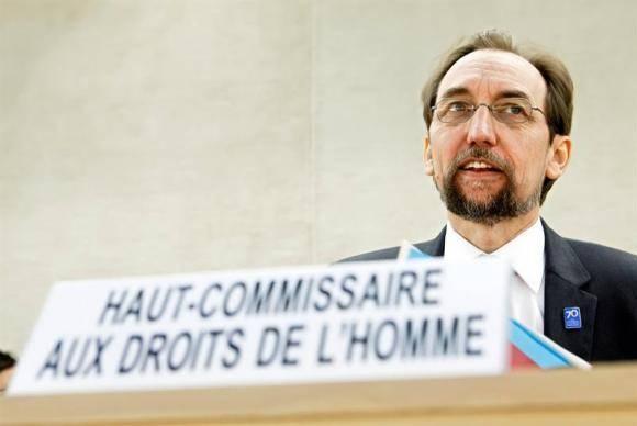 Alto Comissário das Nações Unidas para os Direitos Humanos, Zeid Ra'ad Al Hussein