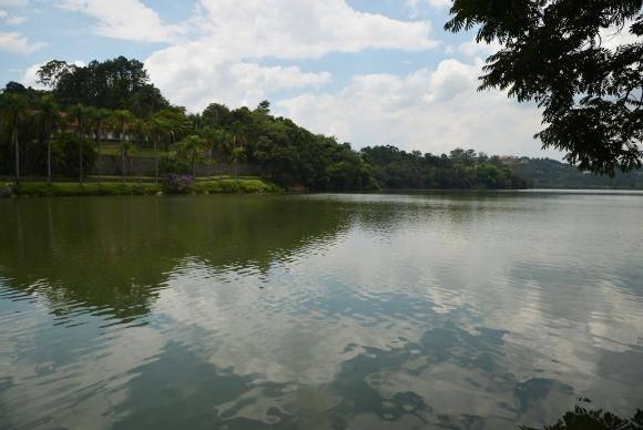 Mairiporã (SP) - A barragem Sete Quedas faz parte do Sistema Cantareira de abastecimento de água para a capital (Rovena Rosa/Agência Brasil)