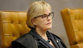 Brasília - Ministra Rosa Weber durante sessão do Supremo Tribunal Federal (STF) para decidir se parlamentares podem ser afastados do mandato (Rosinei Coutinho/SCO/STF)
