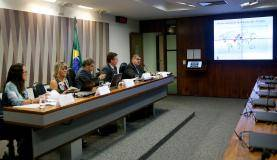 Brasília - Audiência na Comissão Senado do Futuro debate a crise hídrica e a importância do Fórum Mundial da Água 2018 (Wilson Dias/Agência Brasil)