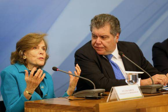Brasília - O ministro do Meio Ambiente, Sarney Filho, fala à imprensa após reunião com o presidente Michel Temer, no Palácio do Planalto (Wilson Dias/Agência Brasil)