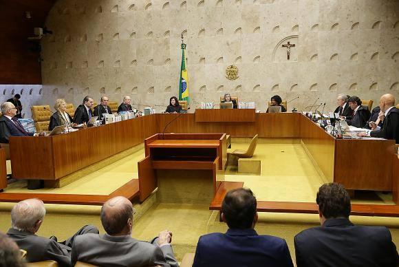 Brasília - Sessão do Supremo Tribunal Federal julga pedido de habeas corpus do ex-presidente Lula (Antonio Cruz/Agência Brasil)