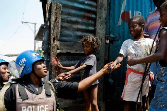 A nova missão da ONU no Haiti, Minujusth, começou em outubro do ano passado.