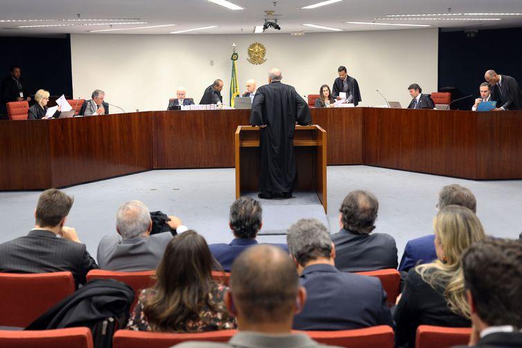 Brasília - A Primeira Turma do Supremo Tribunal Federal (STF) se reúne, para julgar o inquérito em que o senador Aécio Neves é acusado de corrupção passiva e obstrução de Justiça