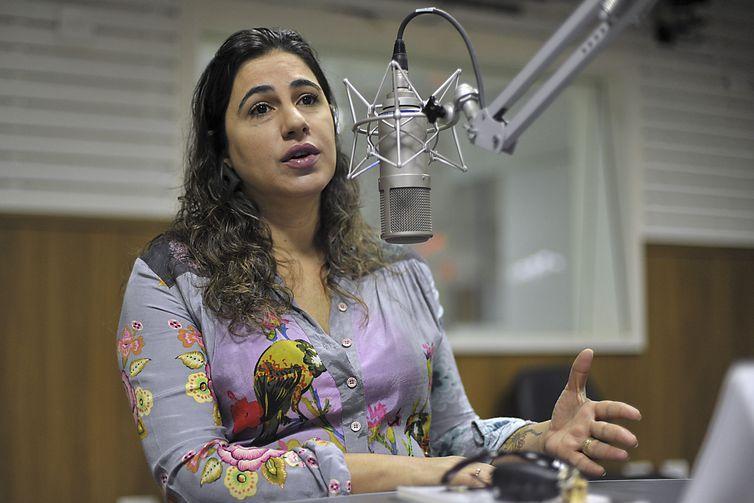 A ex- delegada- chefe da DPCA, Valéria Martirena, fala sobre Pedofilia durante entrevista à Radio Nacional de Brasilia