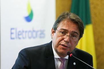 Brasília - O novo presidente da Eletrobras, Wilson Ferreira Júnior, durante a cerimônia de posse (Marcelo Camargo/Agência Brasil)
