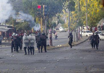 Protestos na Nicarágua