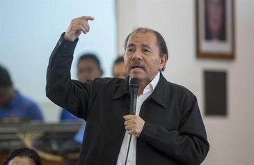 Presidente da Nicarágua Daniel Ortega