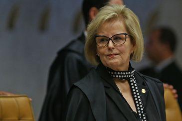 Brasília - A ministra do Supremo Tribunal Federal Rosa Weber durante julgamento do pedido de habeas corpus do ex-presidente Lula (José Cruz/Agência Brasil)
