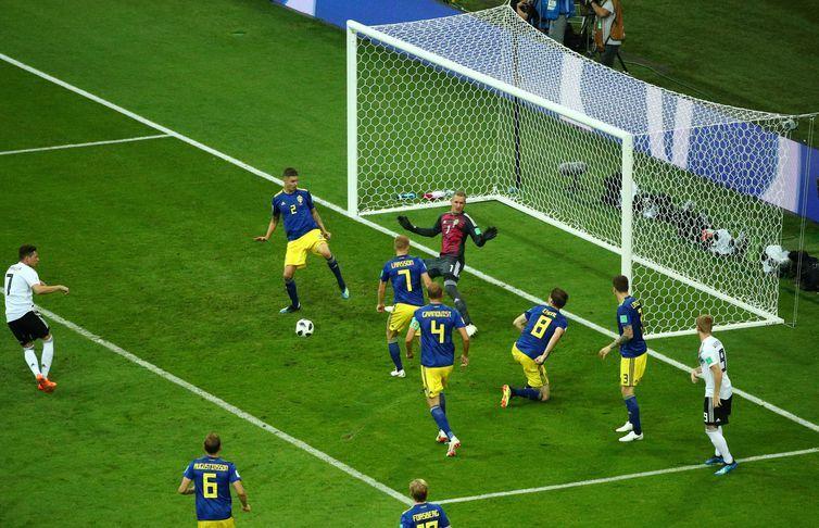 Copa 2018, Alemanha e Suécia, Lances REUTERS/Hannah McKay