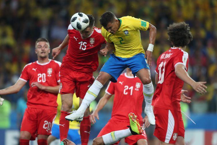 Brasil, Copa 2018, Thiago Silva