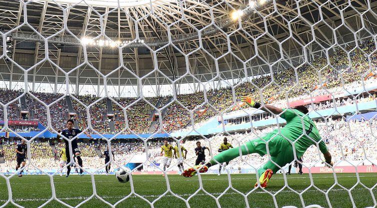 Copa 2018, Colômbia, Japão, Gol, Penalti REUTERS/Jason Cairnduff