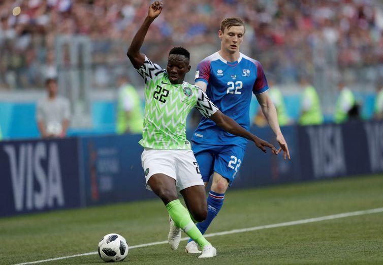 Islândia e Nigéria se enfrentam na Copa do Mundo 2018