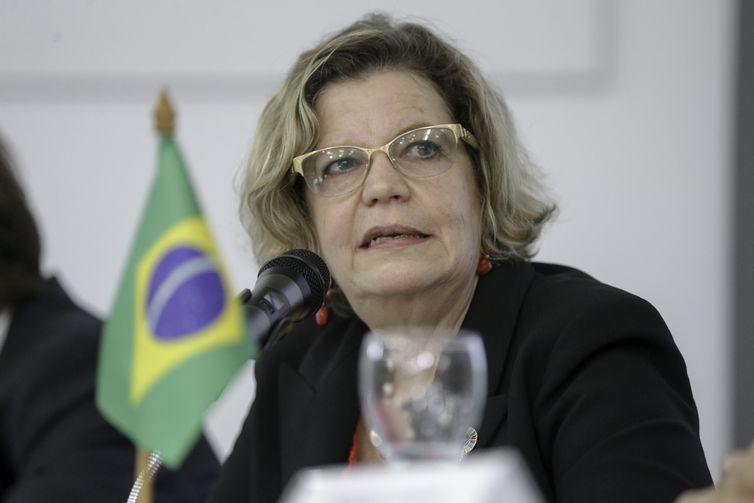 A representante da ONU Mulheres Brasil, Nadine Gasman, participa de seminário internacional sobre equidade de gênero e representação política das mulheres, na Enap.