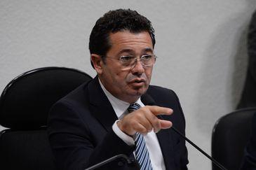 Primeira reunião da CPI da Petrobras no Senado. Na foto, o presidente da comissão, senador Vital do Rêgo (Valter Campanato/Agência Brasil)