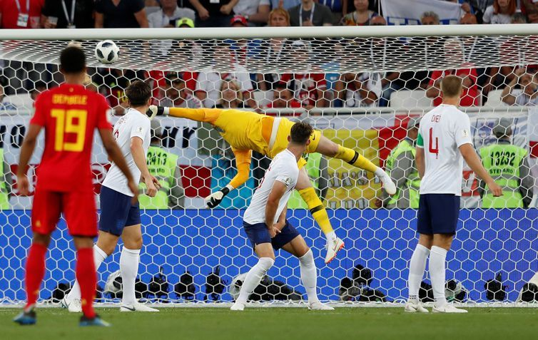 Soccer Football - World Cup - Group G - England vs Belgium - Kaliningrad Stadium, Kaliningrad, Russia - June 28, 2018 Belgium's Adnan Januzaj scores their first goal REUTERS/Lee Smith