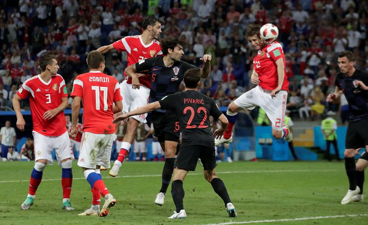 Copa 2018, Rússia e Croácia, Gol Rússia REUTERS/Henry Romero