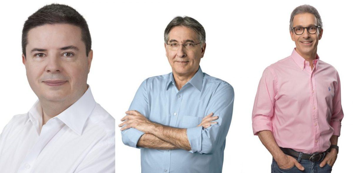 Candidatos ao Governo de MG na Liderança