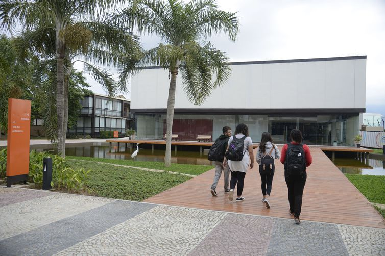 Instalações da Escola Sesc de Ensino Médio na Barra da Tijuca, zona oeste do Rio.