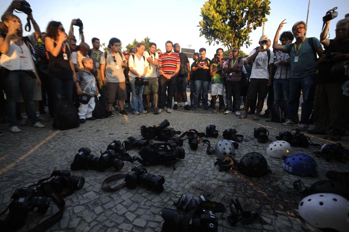 Brasil é o 6º país mais perigoso do mundo para jornalistas