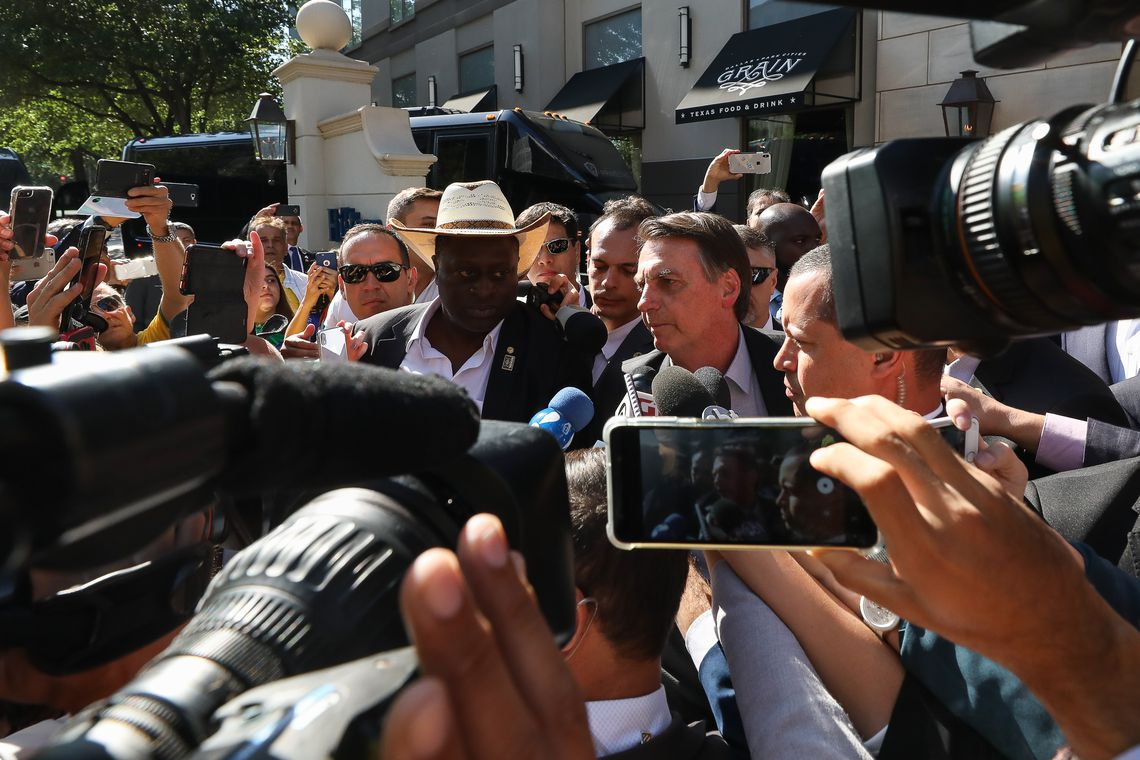 Bolsonaro chega ao Texas nos Estados Unidos