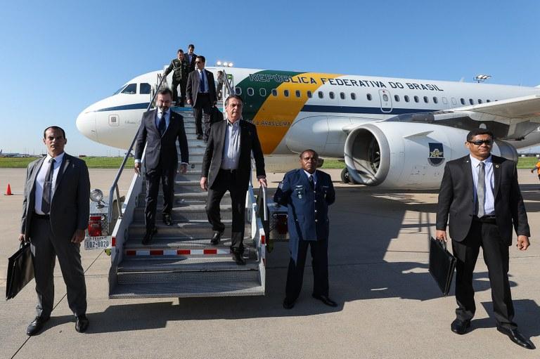 Bolsonaro em Dallas - Texas - Estados Unidos