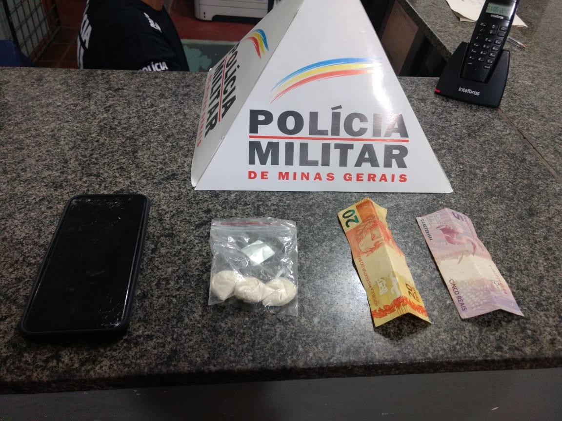 Papelotes de cocaína são apreendidos em Patrocínio-MG