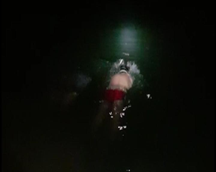 busca por vítima de afogamento em uberlândia