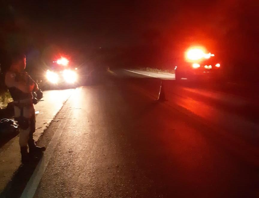Acidente com ônibus de passageiros na BR-365 próximo a João Pinheiro