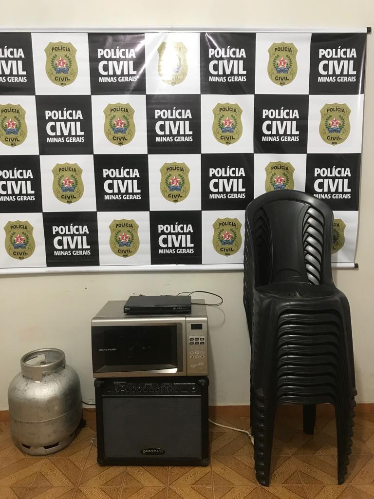Polícia Civil recupera material furtado em igreja de Patos de Minas