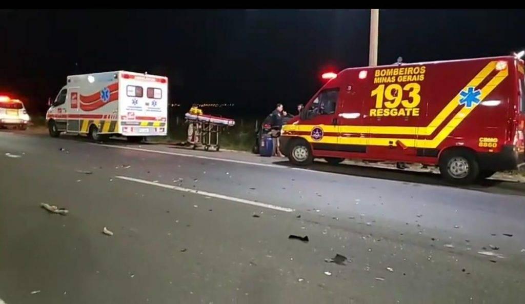 BR 050 Fuga termina com suspeito e motorista mortos