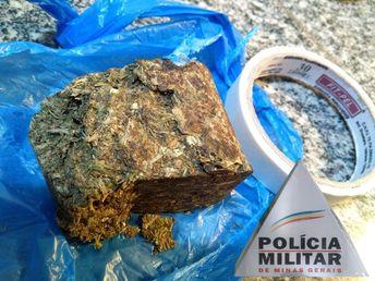 Dois suspeitos de tráfico de drogas são presos em Patos de Minas