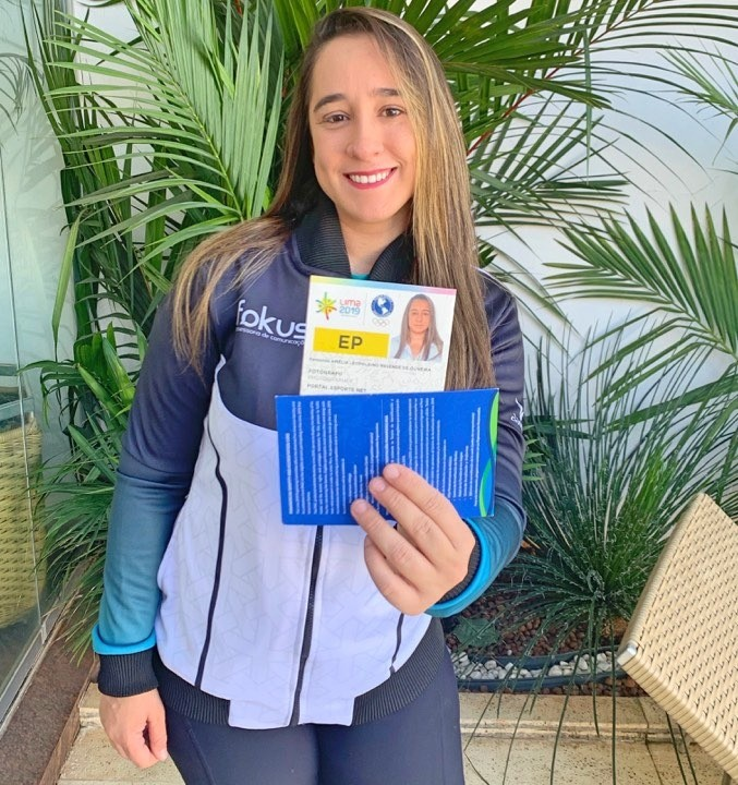 Jornalista patense realizará cobertura dos Jogos Pan-Americanos